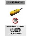 MANDO PUERTA ELEVADORA 2 BOTONES