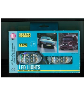 LEDS LUZ POSICION 24V/12V LUZ BLANCA