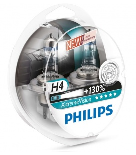 LAMPARAS(2) PHILIPS 12V/H4