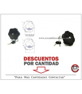 Tapon combustible 80MM