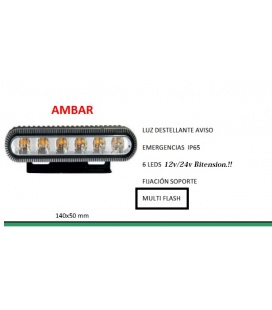 FLASH AMBAR LEDS 24V/12V