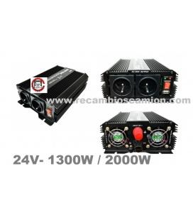 TRANSFORMADOR 1300W-2000W 24V CAMION