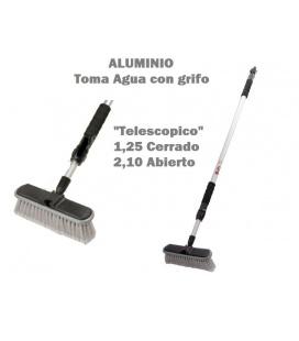 CEPILLO TELESCOPICO ALUMINIO