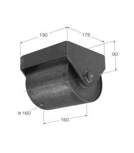 Rueda Contendor Diametro 160mm