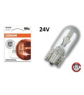 2 lamparas osram 24V W5W