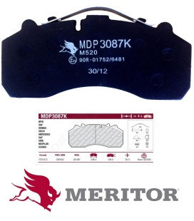 PASTILLAS MERITOR SCANIAS Series 124/144/164