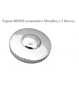 Tapon, 80MM metalico