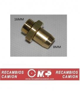RACOR 16MM TUBO 8MM
