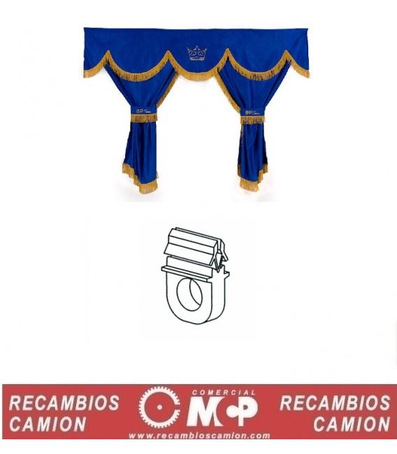 GANCHOS CORTINAS 25 UND