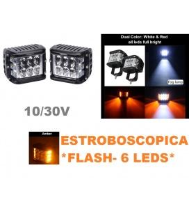 FOCO LEDS CON ESTROBOSCOPICA