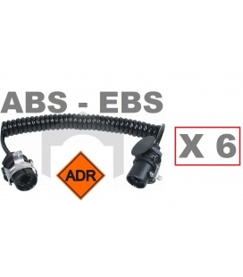 6 CABLES EBS ABS UNIVERSAL