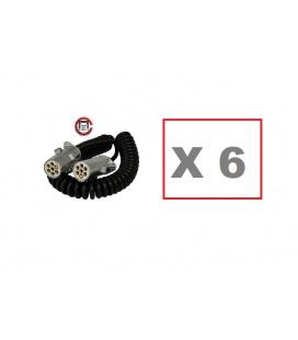 10 Cables 7 polos Luces servicio Tipo S