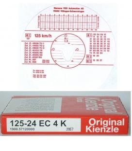 DISCOS TACOGRAFO KIENZLE 12524EC4K