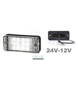POTENTE LUZ BLANCA LEDS 12/24V
