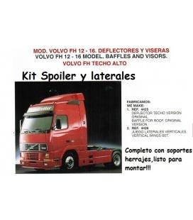SPOILER VOLVO FH12 -16 GLOBETROTTER